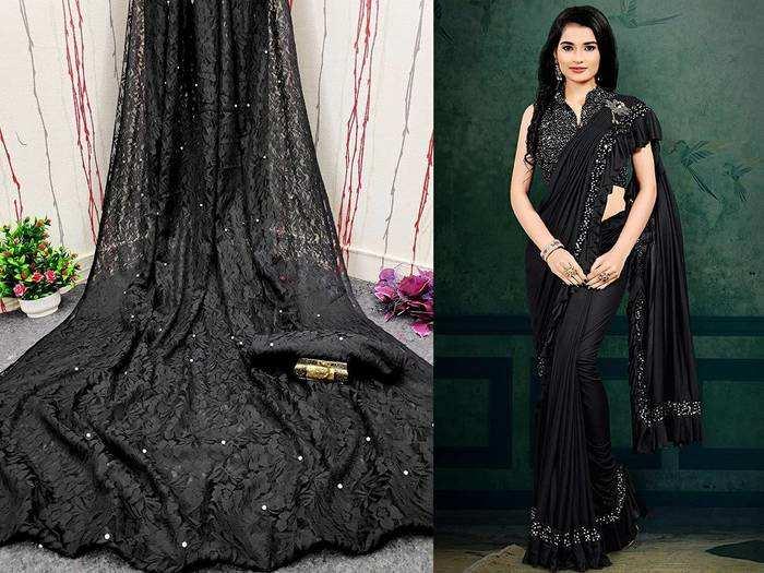 Black Saree : पार्टी में सभी पर चलेगा इन ब्लैक साड़ी का जादू और आप दिखेंगी सबसे बोल्ड
