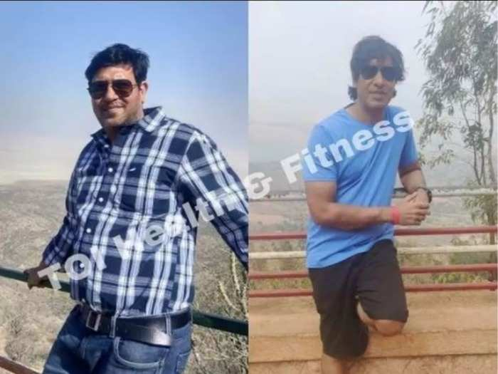 weight loss story this man quit refined sugar roti and rice to lose 24 kilos from 95 kgs weight