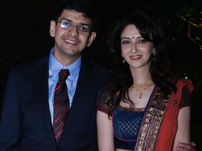 Saumya Tandon With Husband