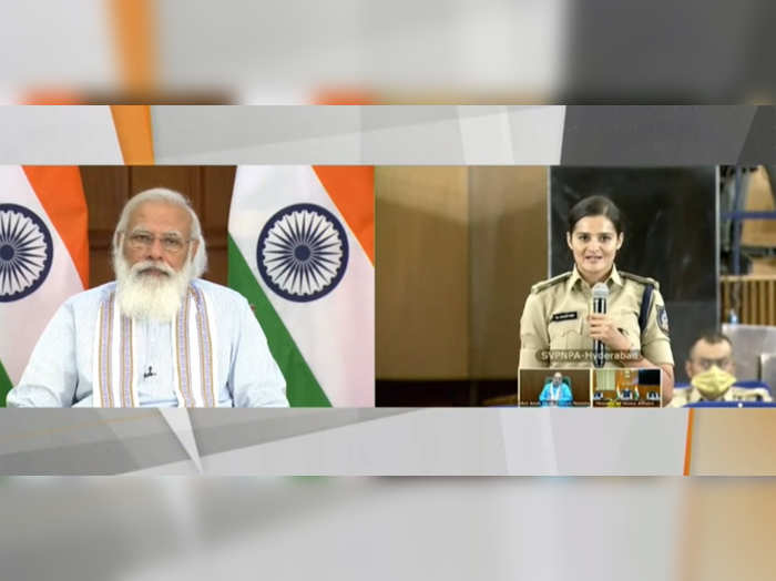 whatever decisions you take in field national interest and perspective should guide them pm modi to ips probationers