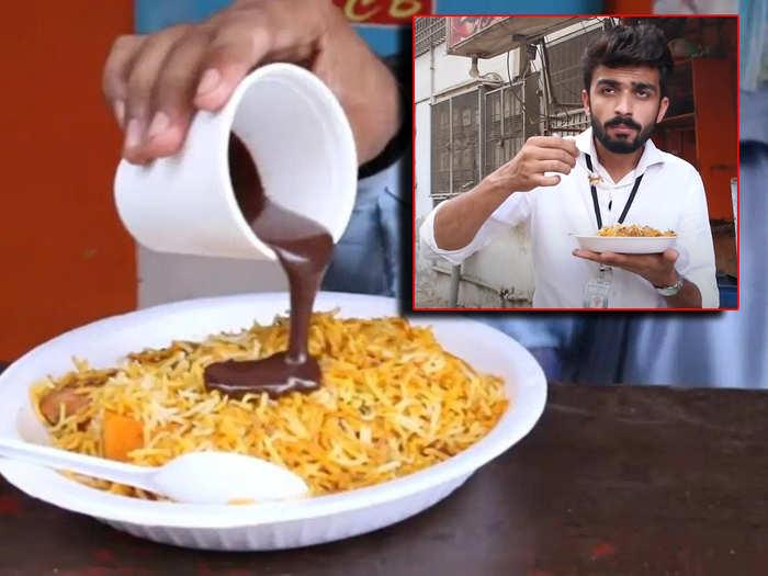 Chocolate Biryani reaction