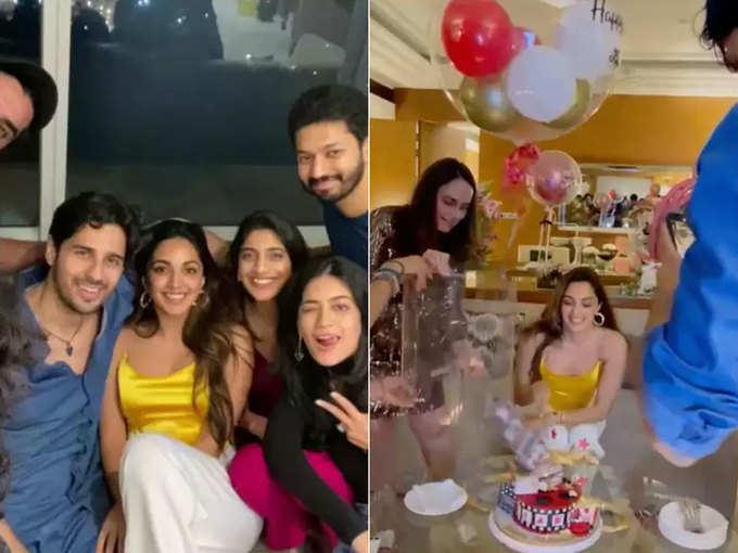 Kiara Advani's birthday celebration