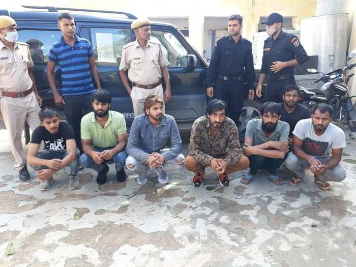 काला जेठड़ी के बाद पकड़ा गया आकाश गैंग, सरगना समेत 7 गिरफ्तार, जानिए किन इलाकों में था इनका खौफ