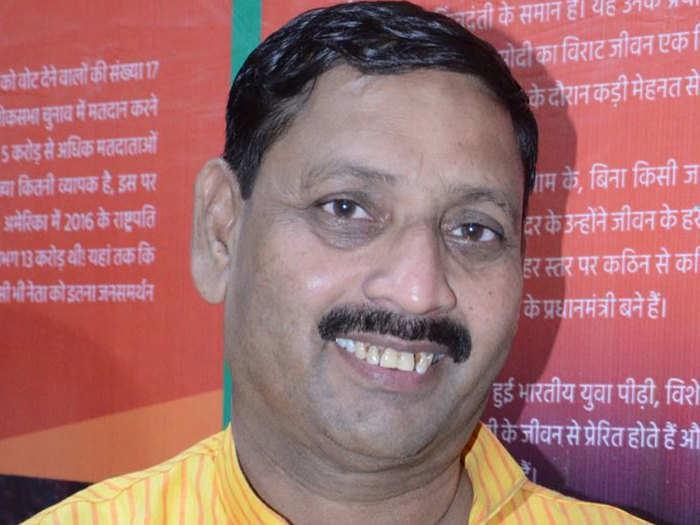 बीजेपी सांसद धर्मेंद्र कश्यप