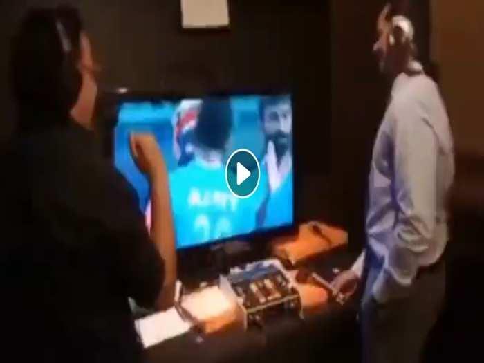 sunil taneja sony commentators gets emotional