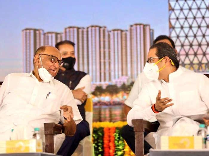 Sharad Pawar-Uddhav Thackeray