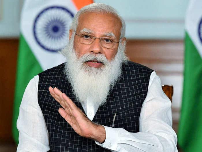 Narendra Modi E Rupi Launch.