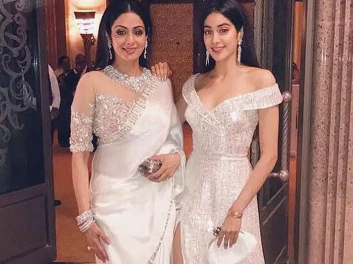 Sridevi And Janhvi Kapoor