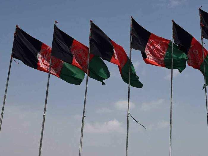 Afghan flags