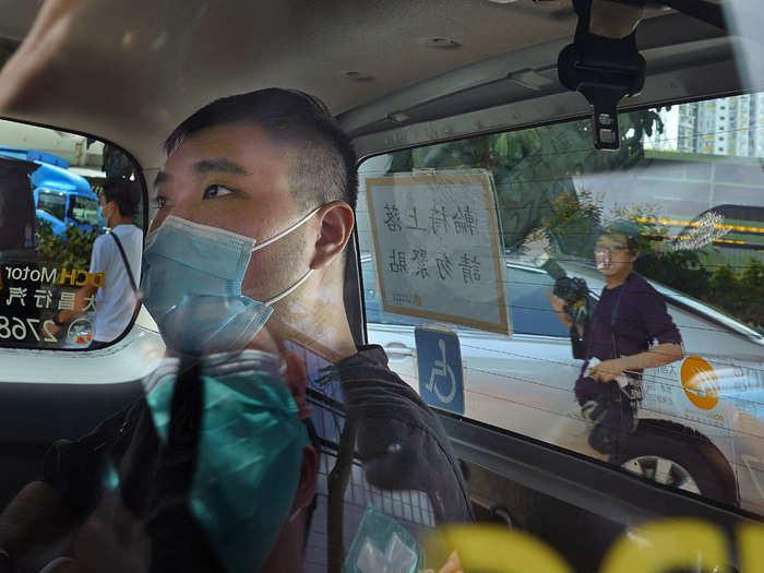 Hong Kong Security Act Tong AP