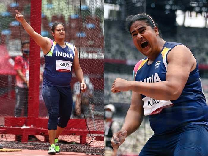 kamalpreet kaur success story first indian athlete to perform in discus throw final finishes in sixth position