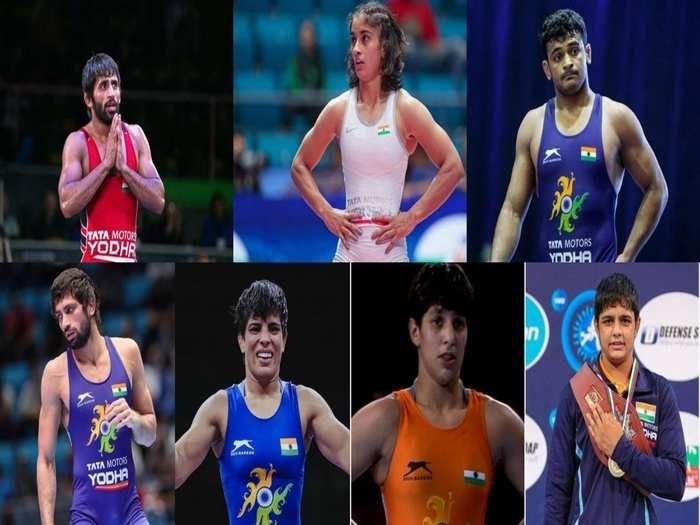 टोक्यो ओलंपिक में भारतीय पहलवान