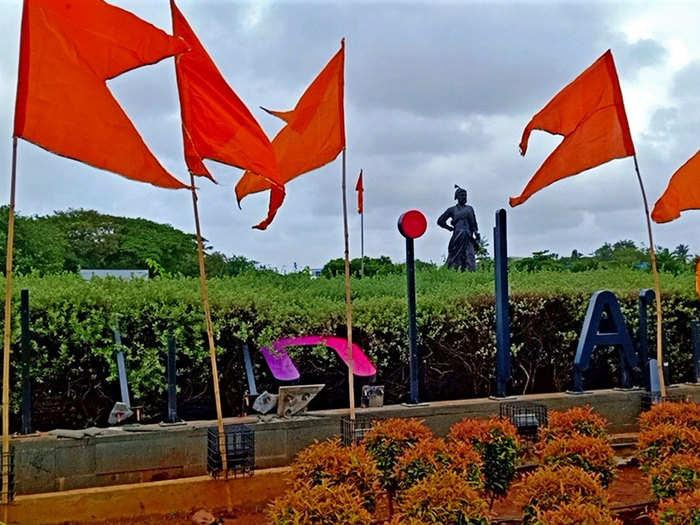 shivsena protest at mumbai airport