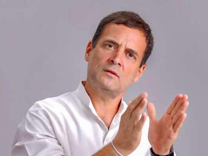 Rahul Gandhi,File Pic