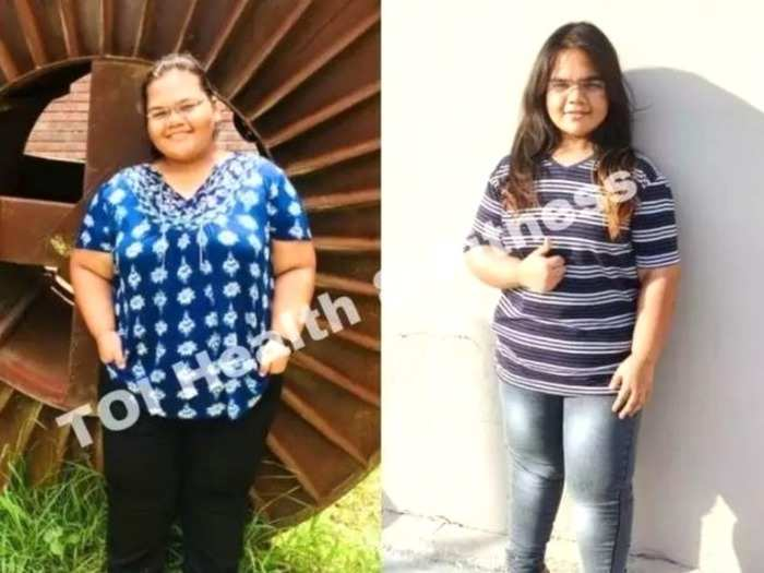 weight loss transformation story how this student lost 47 kg by walking 10 thousand steps per day