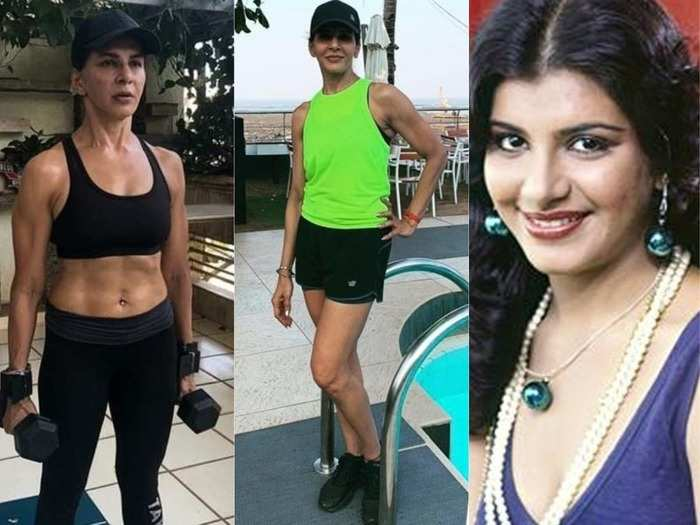 58 year old chhoti sardarni fame anita raaj lift weight for toned body read fitness and diet sectret