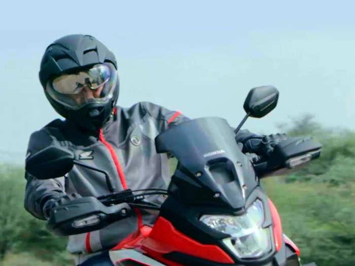 Honda Adventure Bike