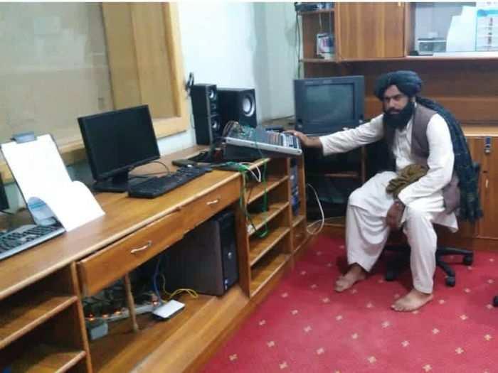 Taliban Radio Station