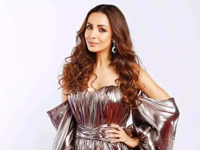 malaika arora trolled for cold shoulder maxi dress designed by gabriella because it was copied from monse