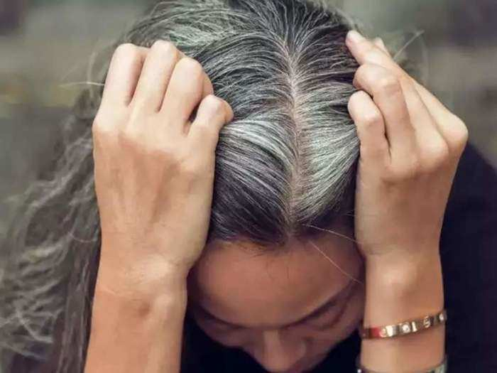 best home remedies for making grey or white hair black again hair care tips