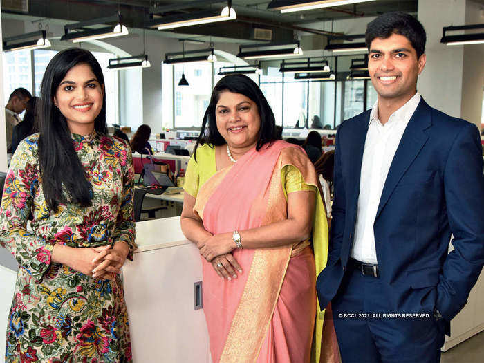 success story-ex-investment-banker gets her turn as billionaire startup ceo in nykaa ipo