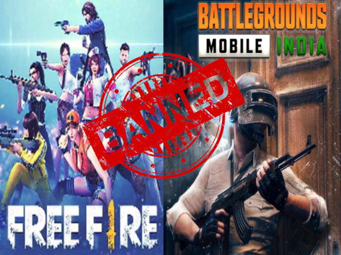 Ban Garena Free Fire and BGMI mobile games in India