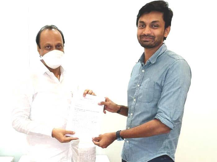Ajit Pawar-Pratik Patil