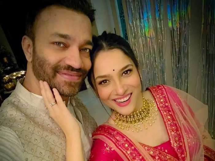 ankita lokhande surprises her boyfriend vicky jain birthday and said i will be there for you at every situation of life