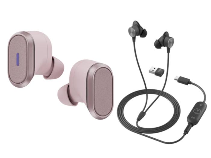 Logitech Zone True Wireless, Zone Wired Earbuds