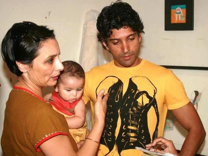 farhan Akhtar Wife Adhuna