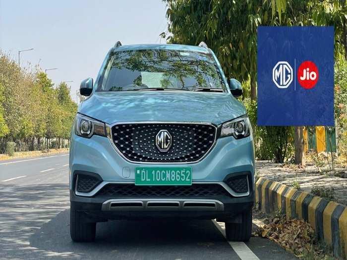 MG Motor India And Jio For MG Astor Petrol SUV