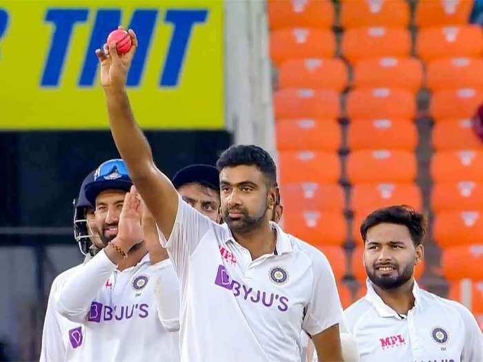 R Ashwin India Test Cricket