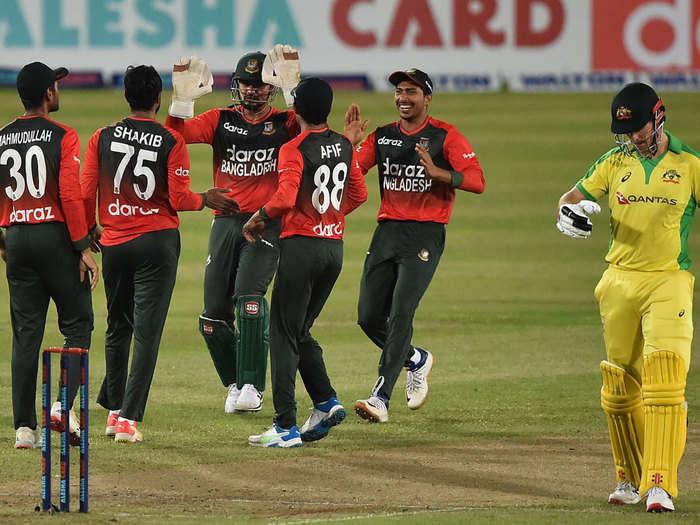 BAN vs AUS Highlights: बांग्लादेश ने टी-20 में पहली बार ऑस्ट्रेलिया को दी मात, नसुम अहमद रहे जीत के हीरो