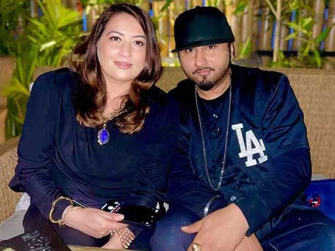 Honey Singh and Shalini Talwar