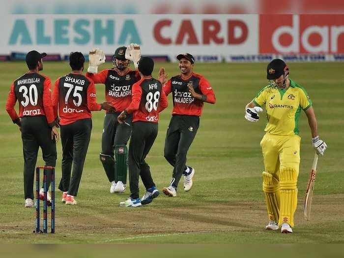 Bangladesh vs Australia 1st t20i in 2021