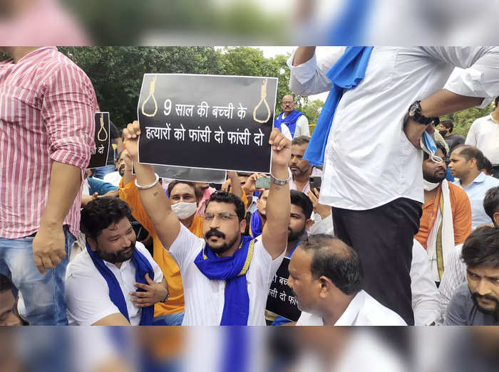 parents of minor allegedly raped, murdered in delhi demand capital punishment for culprits