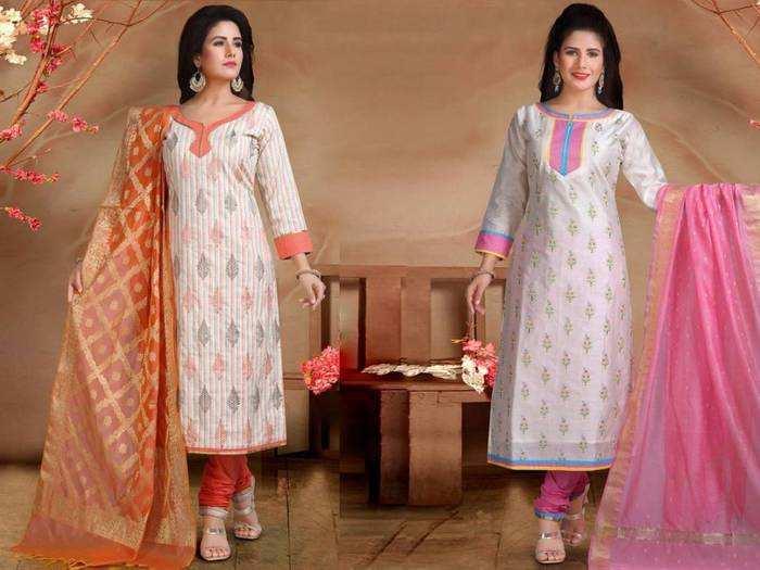 500 रुपए से भी कम कीमत में खरीदें ये बढ़िया क्वालिटी वाले शानदार Salwar Suit Set