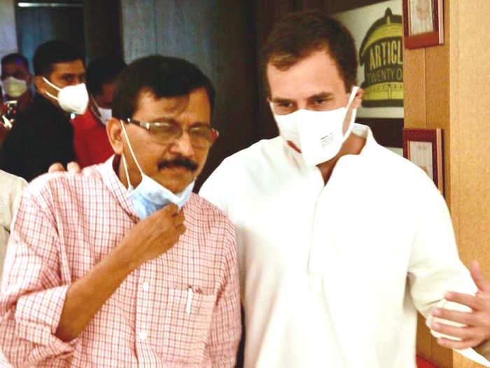 Sanjay Raut-Rahul Gandhi