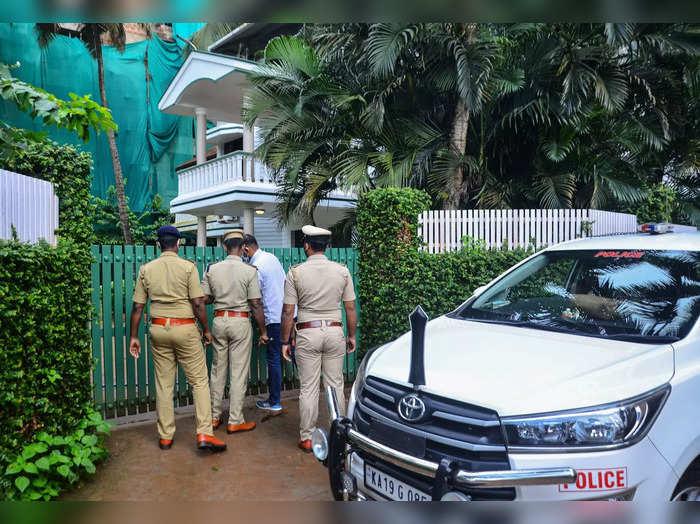 Mangaluru: NIA officials from Bangaluru, raided former MLA BM Idinabbas son B M...