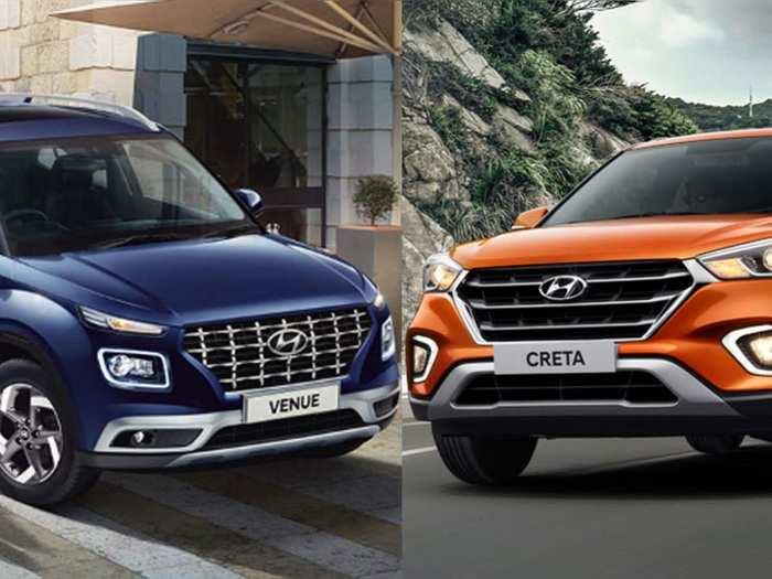 Hyundai Venue And Hyundai Creta Price Hike India