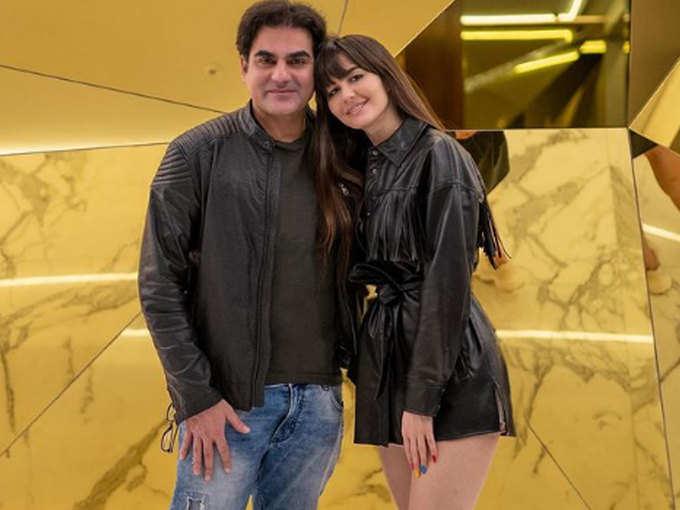 Arbaaz Khan and Georgia Andriani