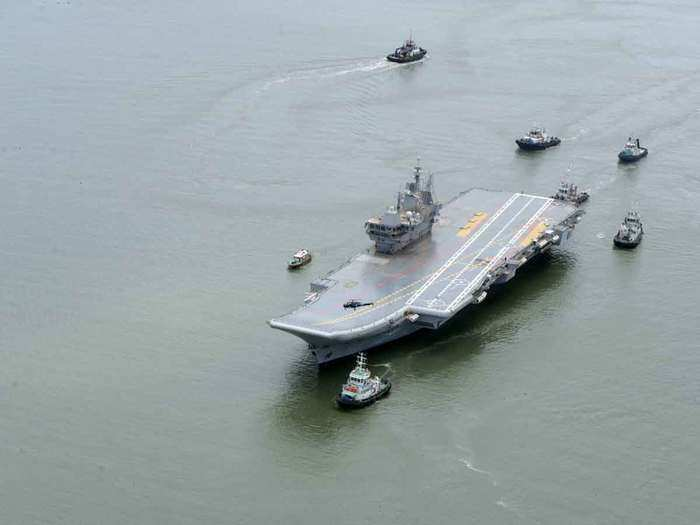 all you need to know about india s first indigenous aircraft carrier vikrant