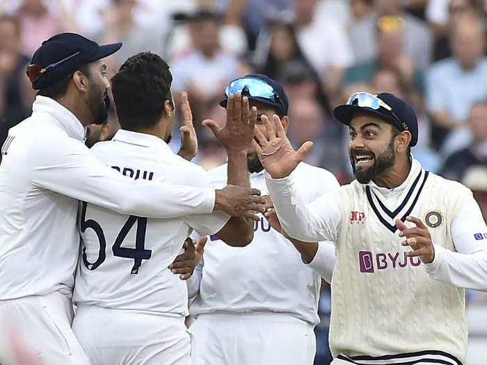 India vs England Day 1 Highlights: इंग्लैंड की पहली पारी 183 पर ढेर, पहले दिन बुमराह-शमी छाए रहे