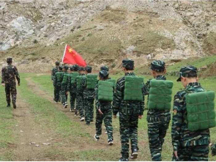china MILITARY CAMPS FOR TIBET YOUTH