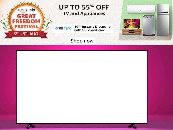 Smart tv with 60% off : 5,000 से अधिक एप को सपोर्ट करते हैं ये Smart tv, मिल रहा है धांसू ऑफर!