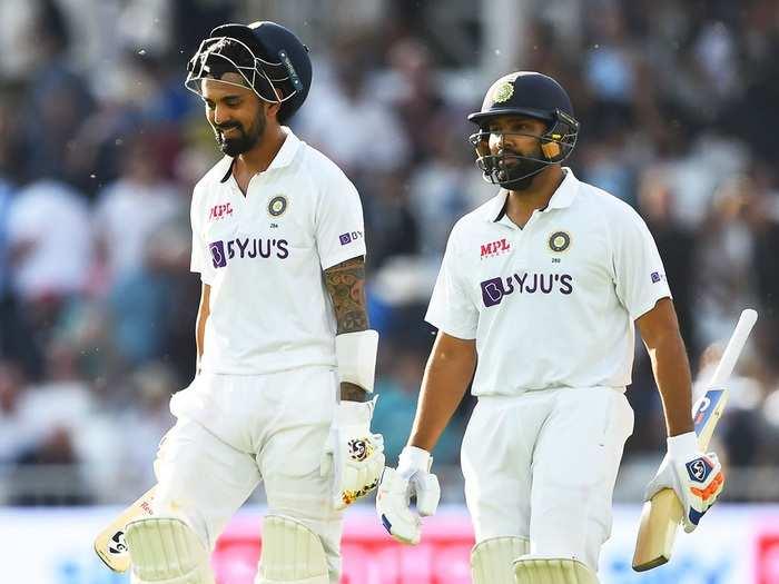 KL Rahul And Rohit Sharma Test