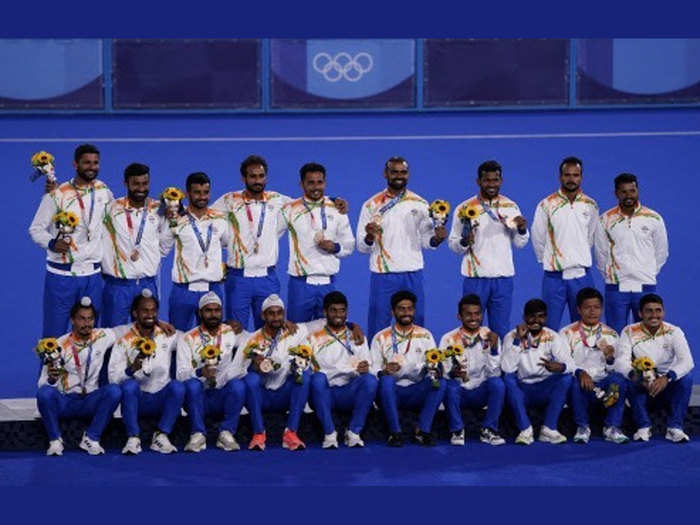 exclusive indian hockey team players and coach interview after winning bronze medal match against germany