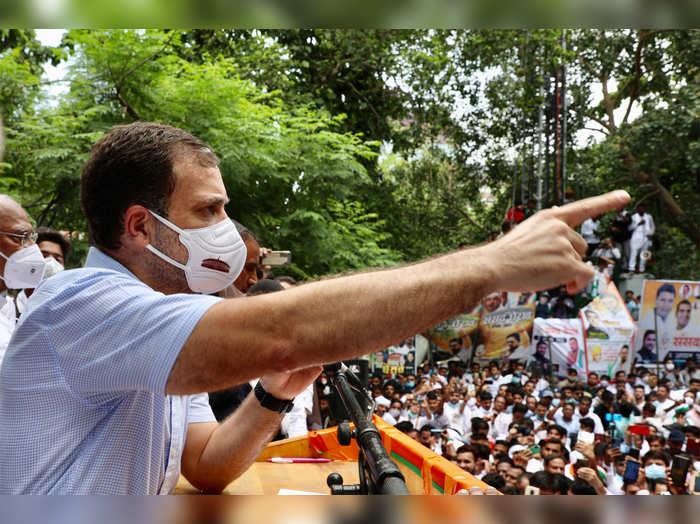 Rahul Gandhi says Pegasus a tool to silence people