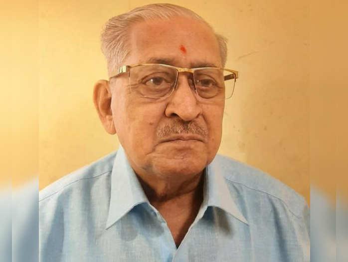 scholar of saint literature prof dr narendra kunte passed away