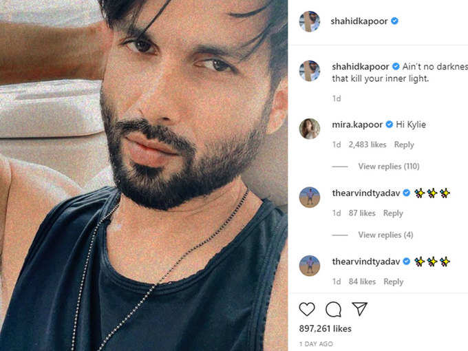 Mira's comment on Shahid's post